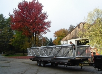 316 Polished Stainless Steel Truss Bridge
