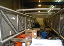 Polished 316 Stainless Truss Bridge
